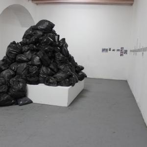 Centro Cultural Palatino de Pasto. Obra de Marco Rico. Fotografía de Jacqueline Tovar.