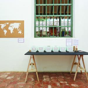"""Casa de la Cultura de Barichara. Laboratorio """"Mapee sus Afectos"""". Rafael Prada Ascencio."""