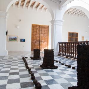 Museo Histórico, Cartagena de Indias. Obra de Jose Luis Quessep. Fotografía de  Banco de imágenes Universidad de los Andes.