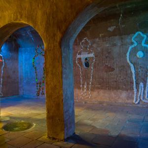 Museo Histórico, Cartagena de Indias. Obra de Alfonso Suárez Ciodaro. Fotografía de Banco de imágenes Universidad de los Andes.