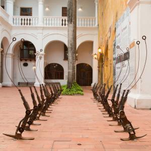 Museo Histórico, Cartagena de Indias. Obra de Eduardo Butron. Fotografía de Banco de imágenes Universidad de los Andes.