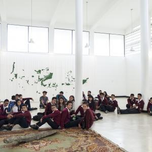 Universidad Nacional. Vista general. Fotografía de Banco de imágenes Universidad de los Andes